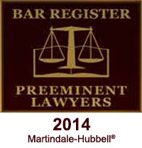 Martindale Hubbell Bar Register of Preeminent Lawyers