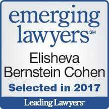 Elisheva Cohen Leading Lawyers 2017