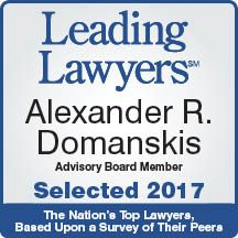 Alexander Domanskis Leading Lawyers 2017
