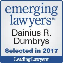 Dainius Dumbrys Leading Lawyer 2017