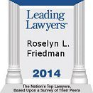Roselyn Friedman Leading Lawyers